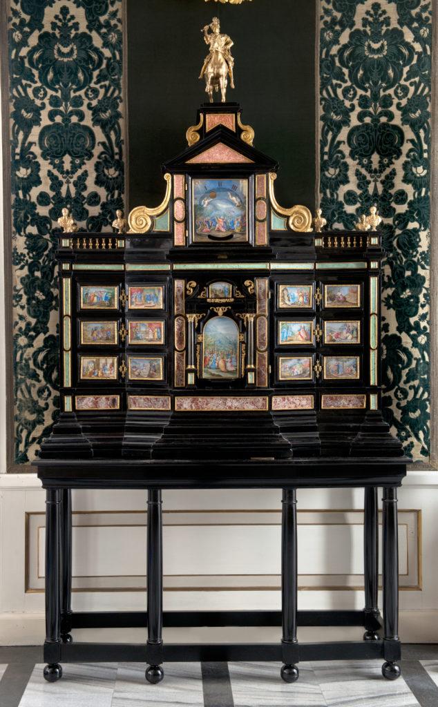 Kabinet Jana III, wyk. Giacomo Herman, 3. ćw. XVII w., Klasztor Kapucynów w Krakowie, fot. A. Indyk
