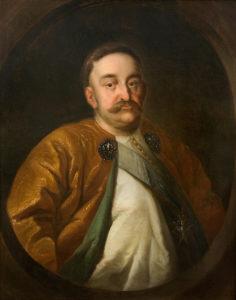 Portret prywatny Jana III, XVII/XVIIIw., ze zbiorów Joanny Sidorczak-Heinsohn i Gunnara Heinsohna, fot. Z. Reszka